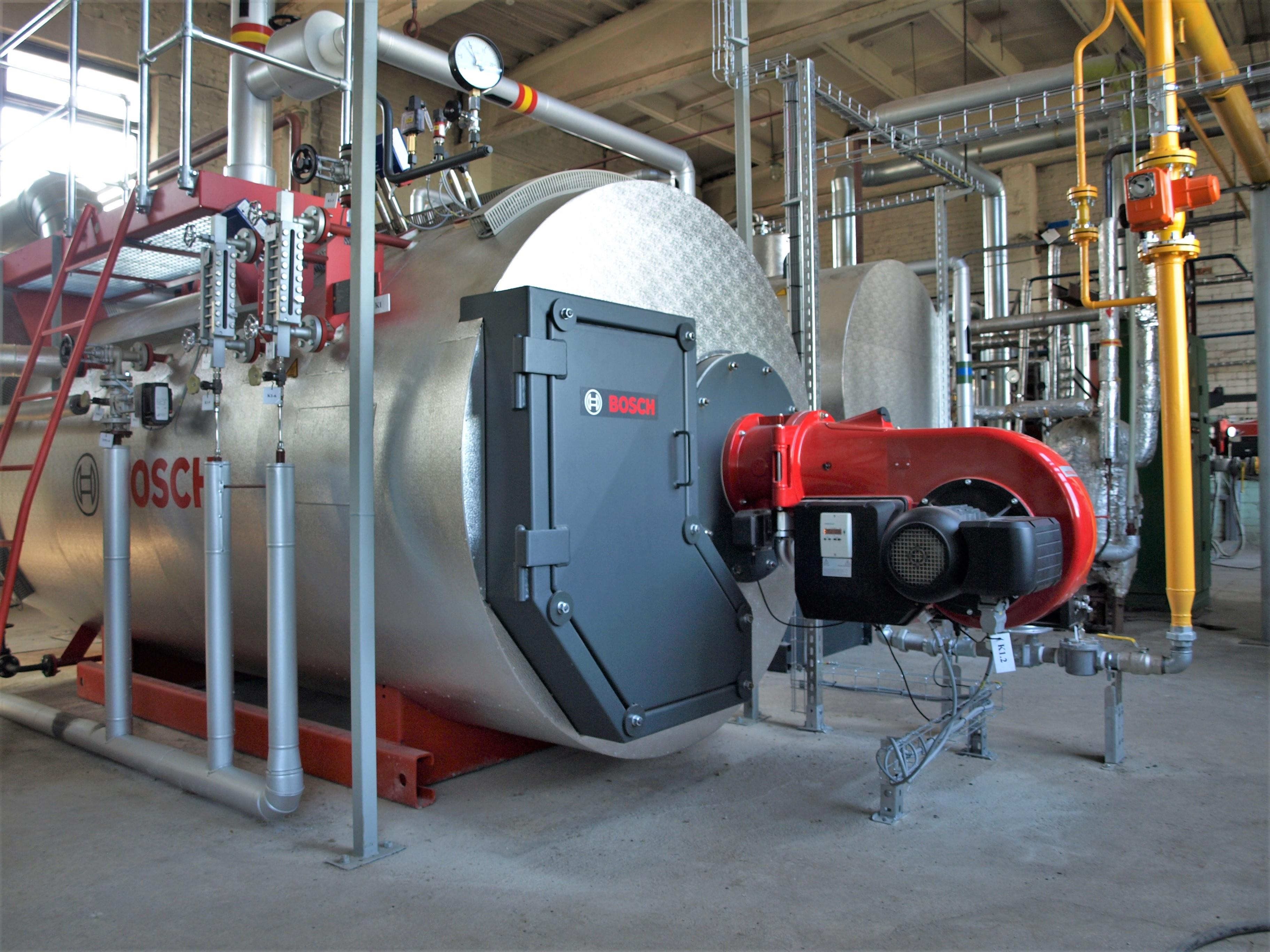 Steam Boiler House in Lithuania